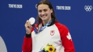 Local swimmer Kylie Masse wins silver