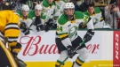 Logan Mailloux while playing for the London Knights.