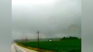 A tornado hit near Bayfield, Ont. on Saturday, July 24, 2021. (Source: Kyle Woods)