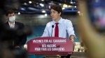 Prime Minister Justin Trudeau makes at an announcement in Moncton, N.B., on Tuesday, July 27, 2021. THE CANADIAN PRESS/Ron Ward