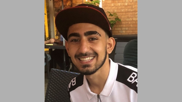 Police say 18-year-old Shahriyar Safarian of Richmond Hill died of injuries from a fire that was deliberately set. (Handout /Toronto police)