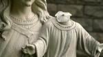 Baby Jesus statue in Sudbury vandalized again