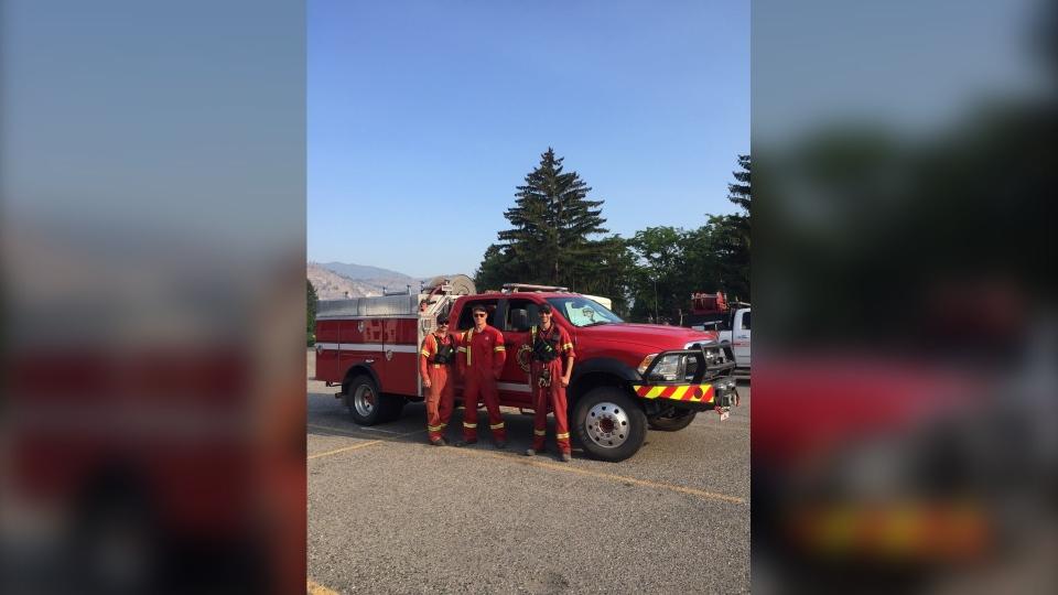 3 City of Fort St. John Fire Department firefighte