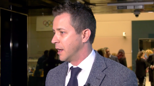 Questions are being raised about a fundraiser for Calgary mayoral candidate Jeff Davison