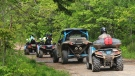 On July 23 and 24, Halifax District RCMP and the Department of Environment and Climate Change conducted an off-highway vehicle (OHV) education and enforcement operation on the St. Margaret's Bay Trail and Beechville Lakeside Timberlea Rails to Trails. (Photo via Halifax District RCMP)