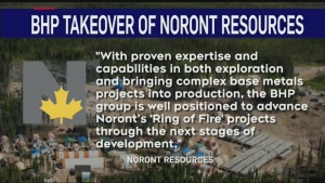 BHP to buy Noront Resources