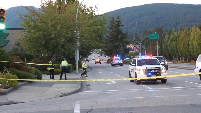 Highway 1 in North Vancouver was shut down for hours on July 27, 2021, because of a police incident.