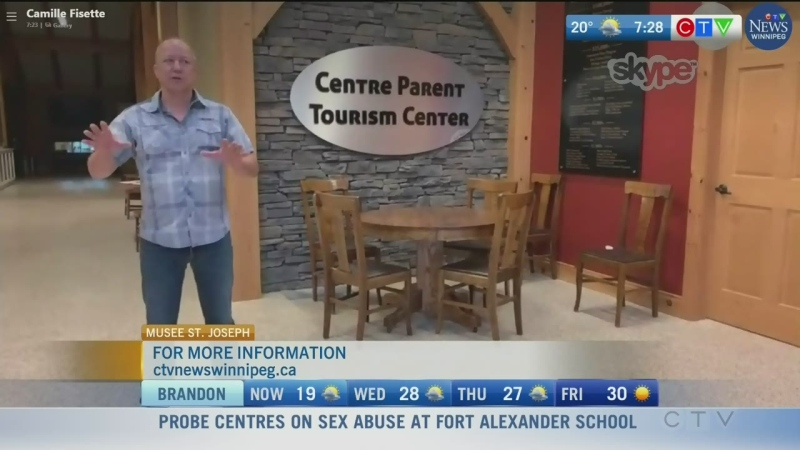 Parent Tourism Centre at St-Joseph Museum
