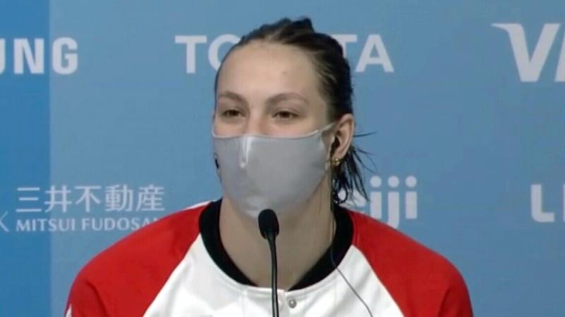 Penny Oleksiak wins historic bronze medal