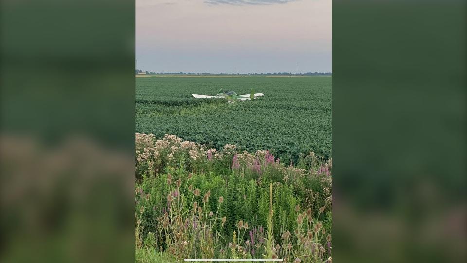 Plane crash chatham