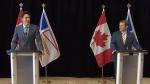 PM Trudeau, N.L. premier make an announcement