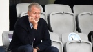 """In this file photo dated Sunday, May 16, 2021, Chelsea soccer club owner Roman Abramovich attends the UEFA Women's Champions League final soccer match against FC Barcelona in Gothenburg, Sweden. British journalist Catherine Belton and her publisher are facing defamation claims from billionaire Chelsea Football Club owner Roman Abramovich and other wealthy Russians over a book entitled """"Putin's People"""", about the rise of Russian President Vladimir Putin, according to reports Wednesday July 28, 2021. (AP Photo/Martin Meissner, FILE)"""