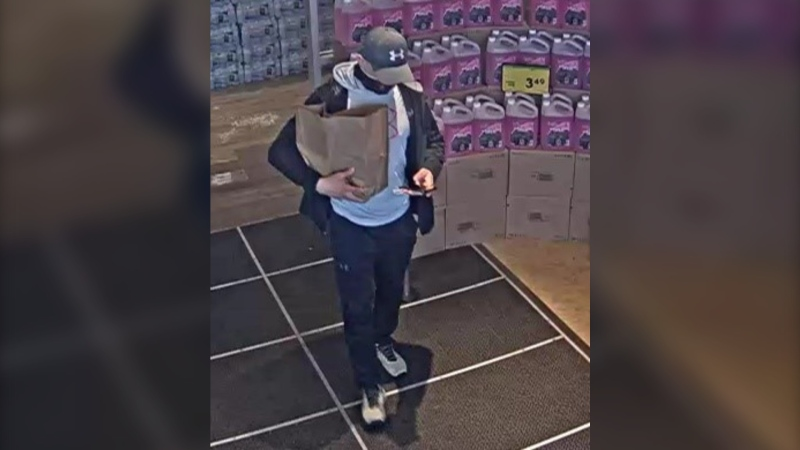 Police are seeking the public's help in identifying a man involved in credit card fraud. (Credit: Edmonton Police Service).
