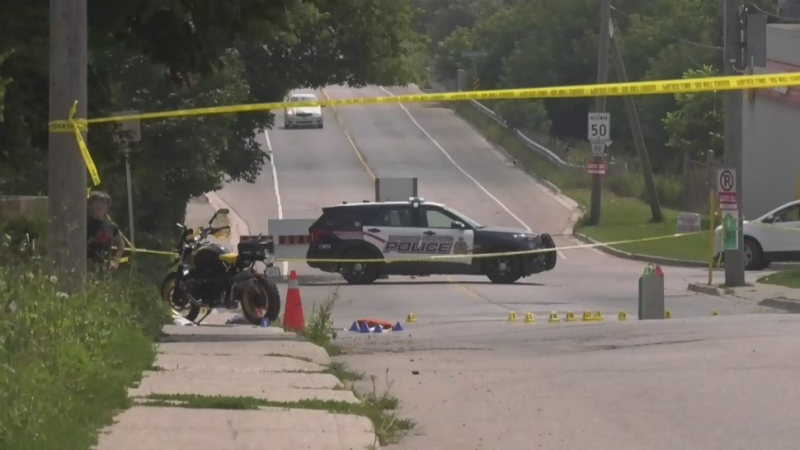 Motorcycle, buggy collide in Woolwich
