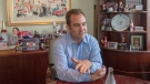 Montreal Canadiens owner Geoff Molson is seen in his office at the Bell Centre in Montreal on Tuesday, June 11, 2019. He said the team let everyone down by drafting Logan Mailloux, who was charged and fined with sharing sexually explicit pictures with his teammates. THE CANADIAN PRESS/Ryan Remiorz
