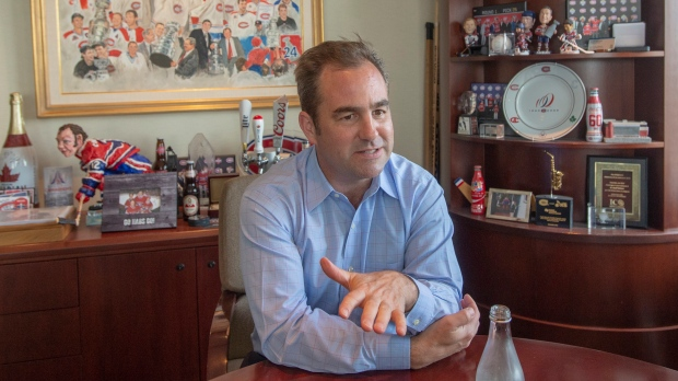 'We let you down,' says Habs owner Geoff Molson on Logan Mailloux draft