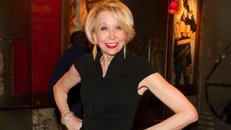 """Julie Halston attends the Broadway opening night of """"She Loves Me"""" on March 17, 2016, in New York. Halston will receive the Isabelle Stevenson Tony Award for her work fighting the lung-scarring disease pulmonary fibrosis. The Tony Awards Administration Committee announced Wednesday, July 28, 2021, that Halston would get the special Tony """"for her dedication and advocacy in raising funding and awareness."""" (Photo by Andy Kropa/Invision/AP, File)"""