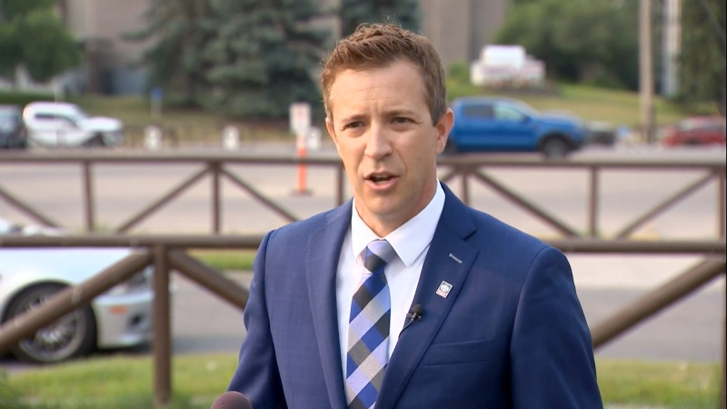 Ward 6 Coun. Jeff Davison responded to allegations his campaign is tied to a third-party advertiser.
