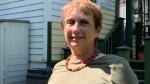 Dianne Wilson researches historic homes in Saskatoon. (Carla Shynkaruk/CTV Saskatoon)