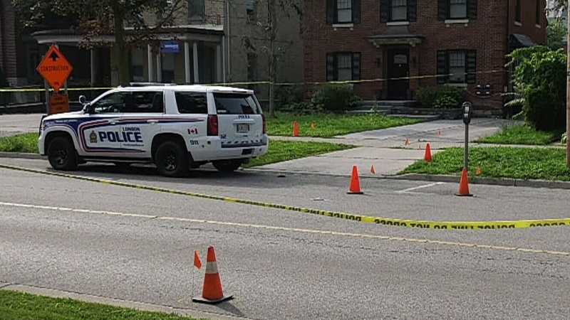 Man shot after charging toward police with knives