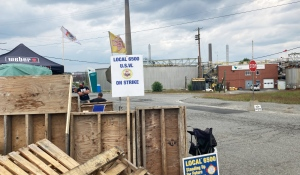 Striking Steelworkers in Greater Sudbury are holding information sessions Tuesday on a new contract offer from Vale Ltd. (File)