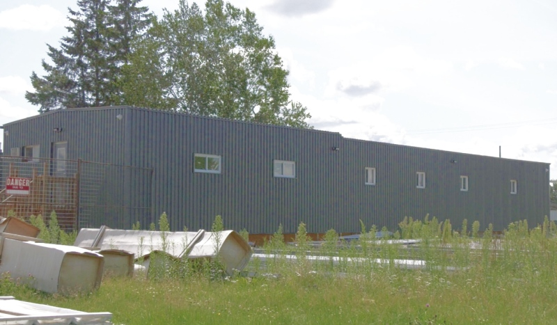 The low-barrier homeless shelter on Chippewa Street in North Bay is reopening at the beginning of August. (Photo from video)