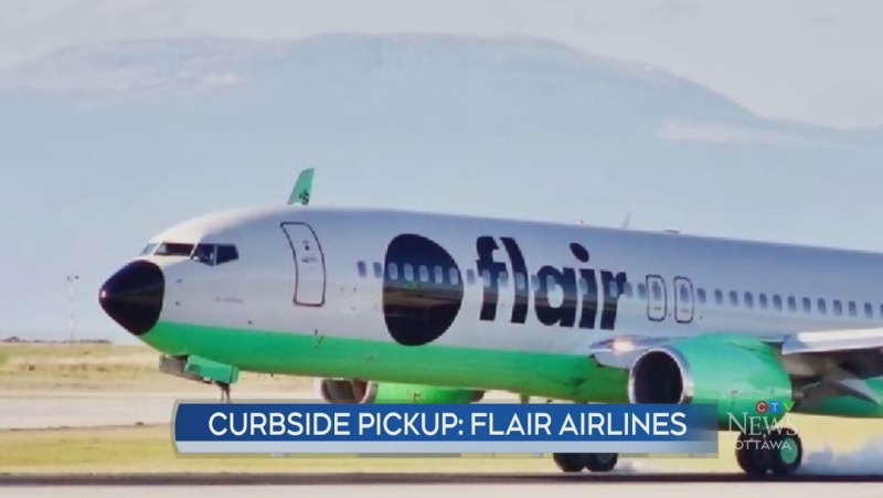 Curbside Pickup: Flair Airlines
