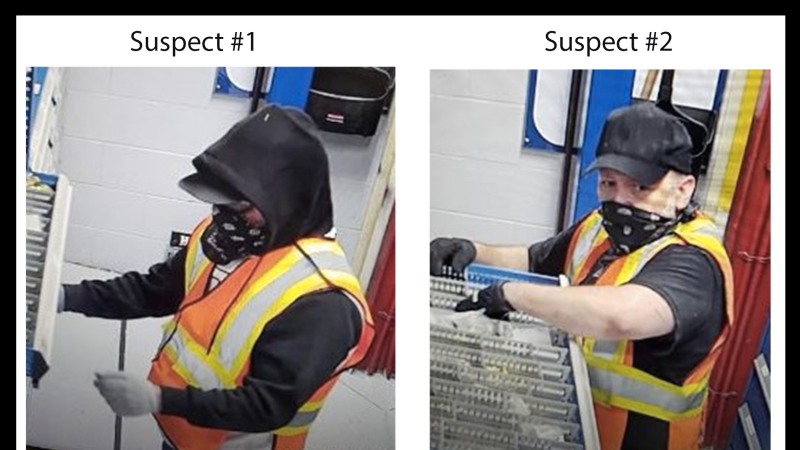 Windsor police are seeking the public's assistance identifying the suspects photographed in this surveillance photo. (Courtesy Windsor Police Service)
