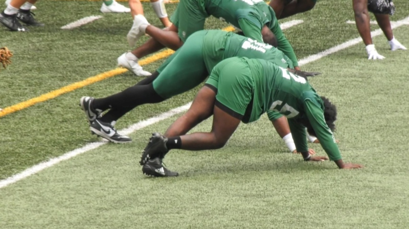 Achilles injuries at Riders' training camp