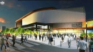 Council voted on seven different recommendations in agreeing to the updated deal.  All seven passed with varying vote totals. Above, a revised rendering of the Event Centre that was released by the city Wednesday