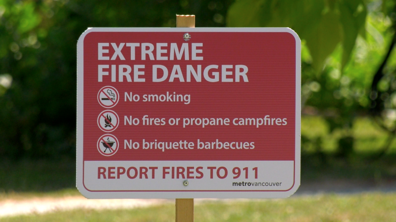 Extreme fire danger