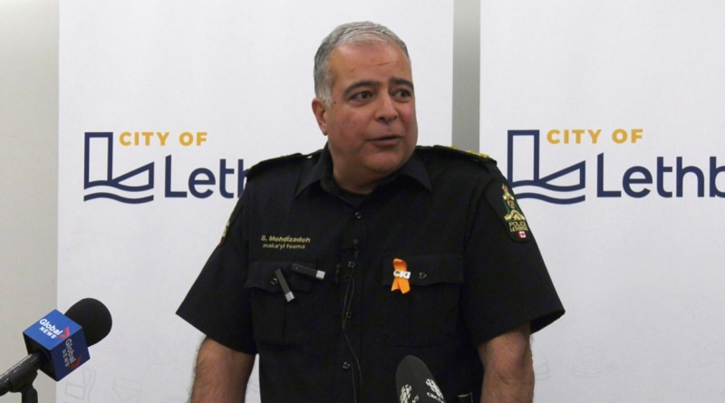 Lethbridge topped the Canadian Crime Severity Index for the second straight year.