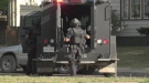 Heavily armed Saskatoon police