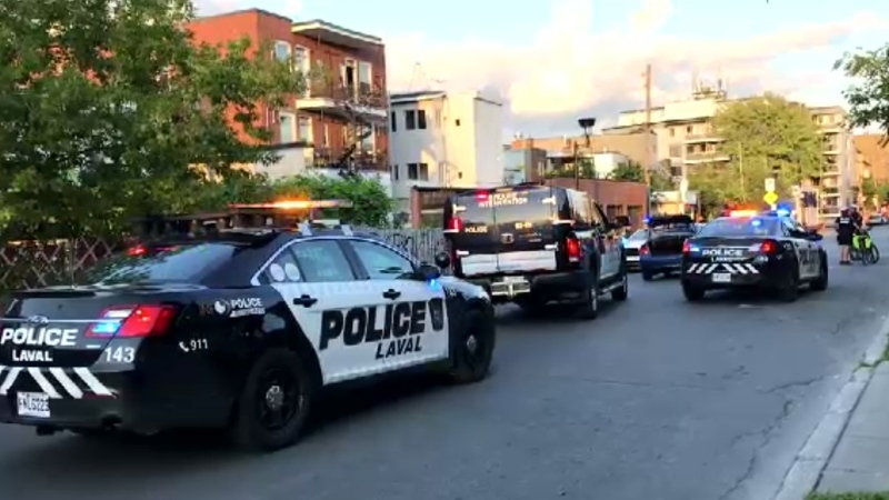 Three teenagers have been arrested following a police pursuit through Montreal streets after an alleged kidnapping in Laval.