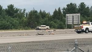 Fatal crash on Highway 7 photo credit: Jim O'Grady