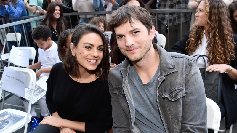 Ashton Kutcher and Mila Kunis have admitted they don't bathe themselves or their children all that often. (Alberto E. Rodriguez/Getty Images North America/Getty Images for Disney)