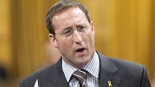 Minister of National Defence and Minister for the Atlantic Gateway Peter MacKay speaks during question period in the House of Commons on Parliament Hill in Ottawa, Ont., on Thursday Nov. 19, 2009. (Sean Kilpatrick / THE CANADIAN PRESS)
