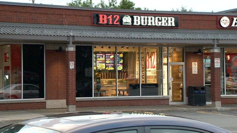 The alleged kidnapping occurred at B12 Burger in Kirkland.