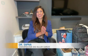 Dr. Sapna talks about some summer accessories to help maintain your neck and spinal health.