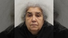 Lulu Lakatos, 60, was sentenced Wednesday to five-and-a-half years in prison for her role in a heist at a luxury jewelry store in London's Mayfair district. (Metropolitan Police / Handout)