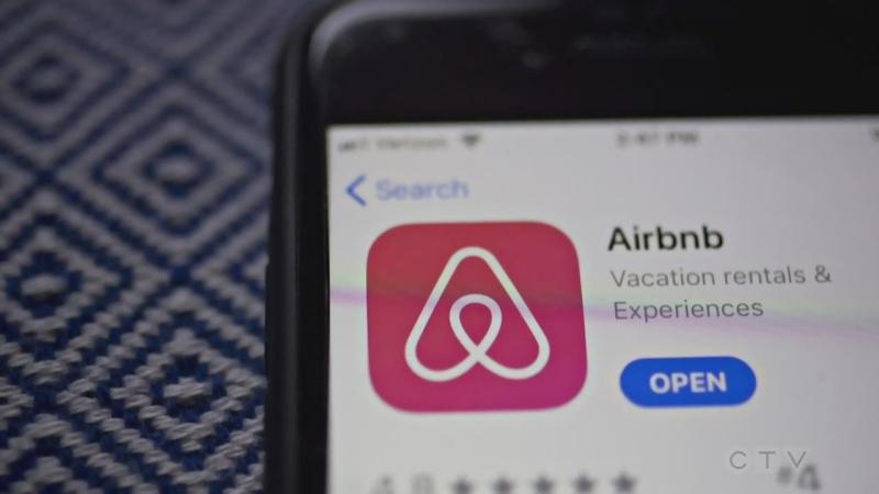 AirBNB app helps find short-term rentals