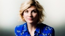 Actress Jodie Whittaker poses for a photograph in Toronto, Oct. 9, 2018. THE CANADIAN PRESS/Nathan Denette