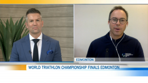 Stephen Bourdeau, GM of World Triathalon Championship Finals Edmonton, explains how the event will safely return to Alberta.