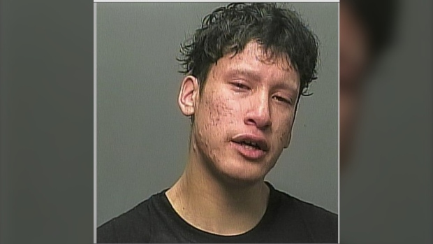 Darren Shayne Swan, 19, has an arrest warrant for aggravated assault and mischief under $5,000 in connection with an assault on July 16, 2021. (Winnipeg Police Handout)