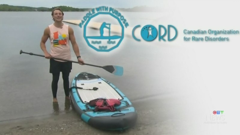 CTV's Will Aiello gears up for next week's paddle