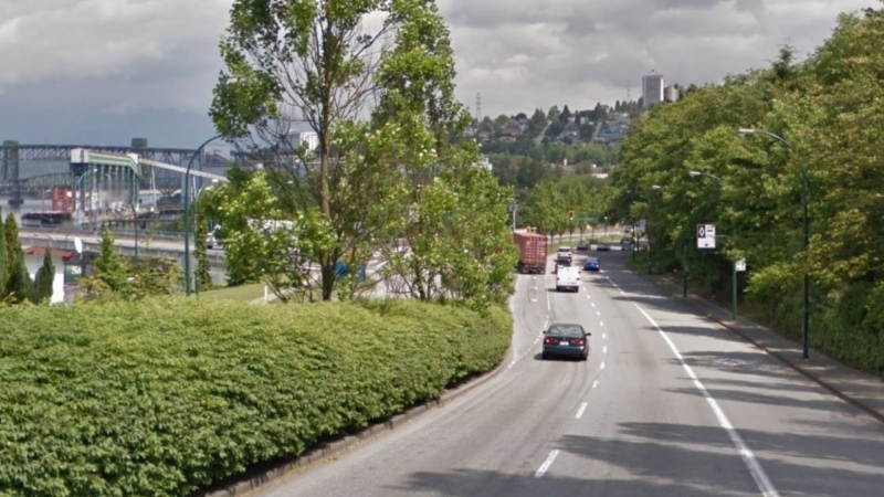 McGill Street east of Renfrew Street in Vancouver, B.C., is seen in a Google Maps image captured in May 2014.