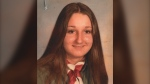Marie Goudreau, 17, was found dead on Aug. 4, 1976. Her blue Plymouth Cricket was found abandoned and still running on Range Road 244, three miles south of Township Road 510. Money and her belongings were found at the scene. (Photos provided by RCMP.)
