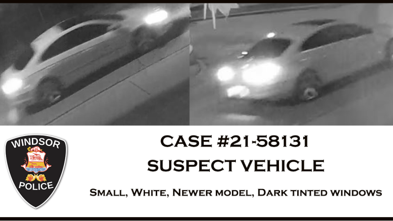 Windsor police are investigating a sexual assault report where a woman was approached and assault by a man in a white vehicle on Windsor Avenue in Windsor, Ont. (Courtesy Windsor Police Service)