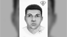 Leamington OPP have released a sketch of a suspect in an indecent act investigation. (Courtesy Ontario Provincial Police)
