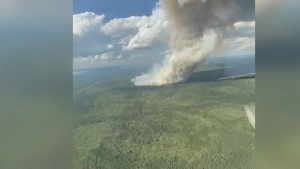 Wildfire smoke prompts air quality statement
